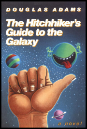 Cover of Hitchhikers Guide to the Galaxy