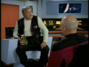 Picard and Scotty (note the Aldebaran whiskey)