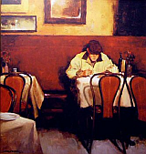 dining alone