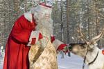 Santa+Reindeer