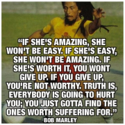Good relationship advice! (from Bob Marley, mon)