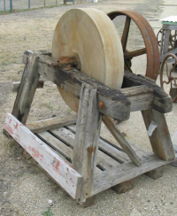 The old grindstone!