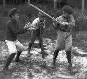 old timey baseball