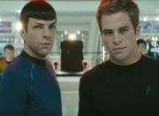 Not my Kirk; not my Spock!