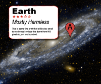 Earth Mostly Harmless
