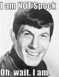 Not Spock