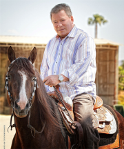 Shatner and horse
