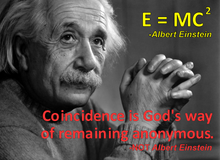 Albert-coincidence