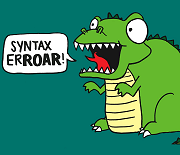 syntax erroar