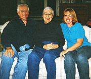 Dad, mom and sis in 2004.