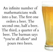 About now, an infinite number of beers probably sounds pretty good!