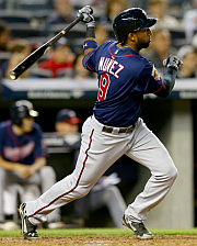 Eduardo Nunez putting the hurt on his old team!