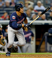 Oswaldo Arcia is back... and he's hitting!