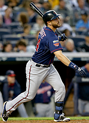 Trevor Plouffe! 5 HR, 20 Doubles, 28 Runs, 34 RBI
