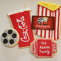 movie cookies