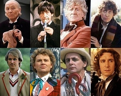 The first eight The Doctors from 1963 thru 1989.