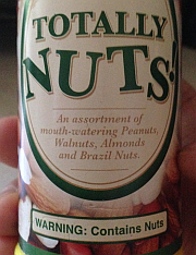 contains nuts