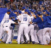 Royals win ALDS