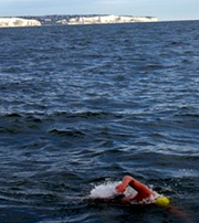 swimming English Channel