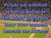 baseball ocean