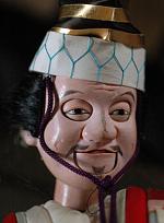 Bunraku puppet head