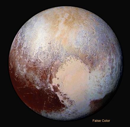 Pluto ices