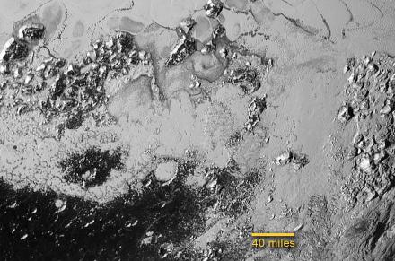 Pluto south plain