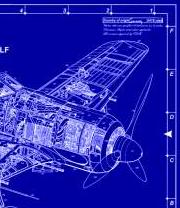 blueprint-plane