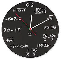 math-clock