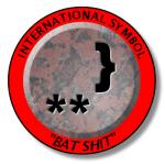 bat-shit