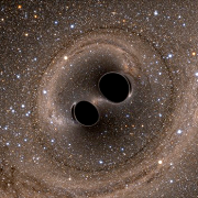 black holes merge