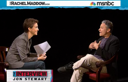 Maddow and Stewart