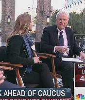 MSNBC in public