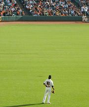 lone baseball player