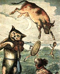 cow jumped moon